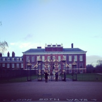 We also popped by Kensington Palace to say hi to Prince George.