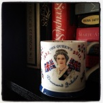 And this one is also a delight. My friend Eliza brought it back to me from a trip to England purposely because it is such a hilariously poor rendering of the Queen.